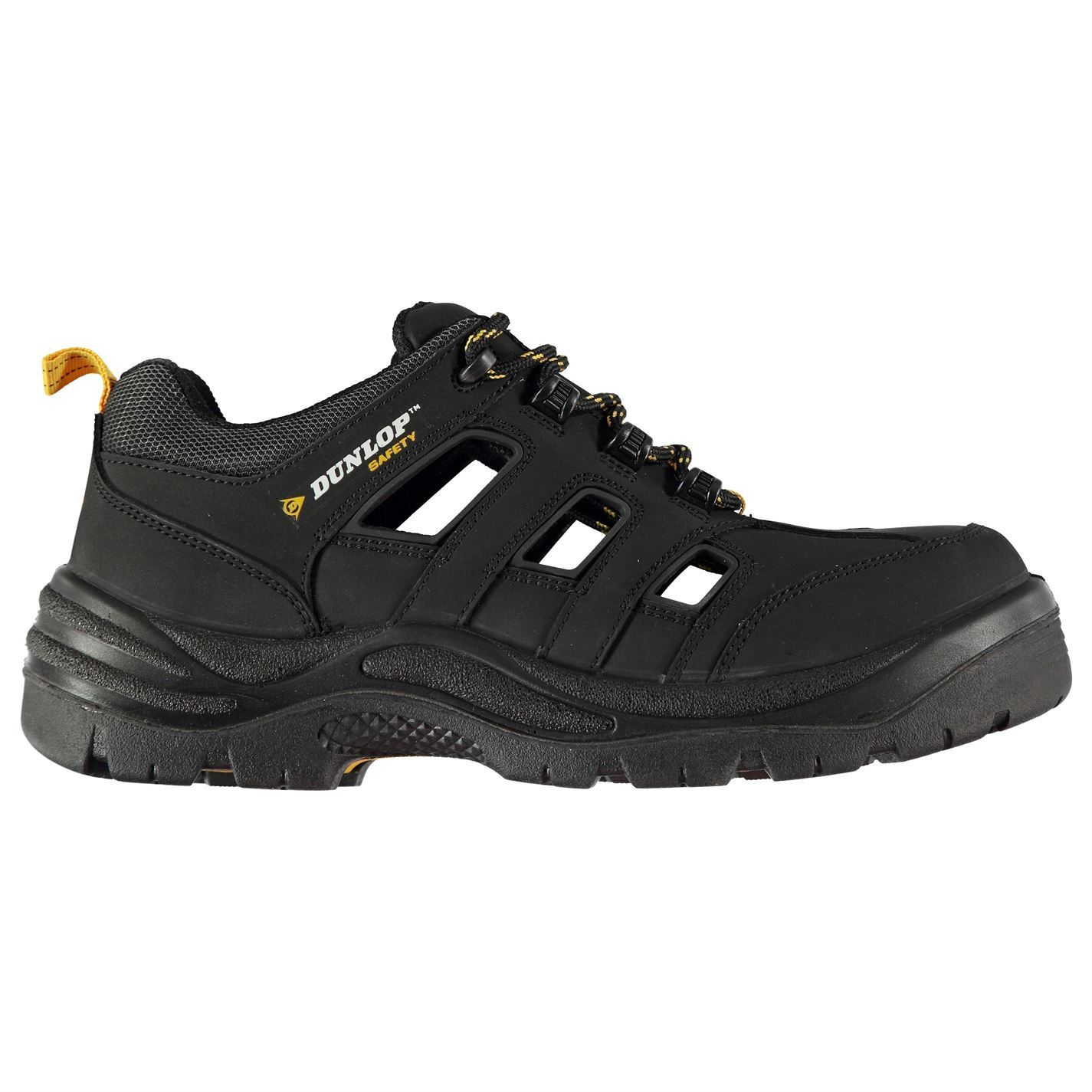 9097b2100a2 Details about Dunlop Hawaii Steel Toe Cap Safety Boots Mens Black Work Shoes