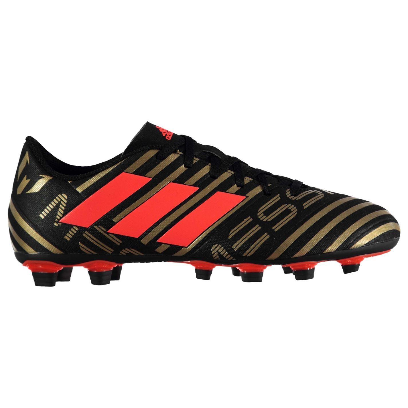 1a45e363d688 ... adidas Nemeziz Messi 17.4 Firm Ground Football Boots Mens Black Soccer  Cleats ...