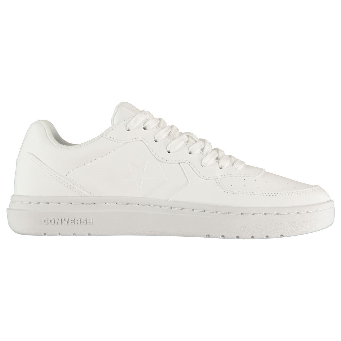 Converse-Ox-Rival-Cuir-Baskets-Pour-Homme-Chaussures-De-Loisirs-Chaussures-Baskets miniature 15