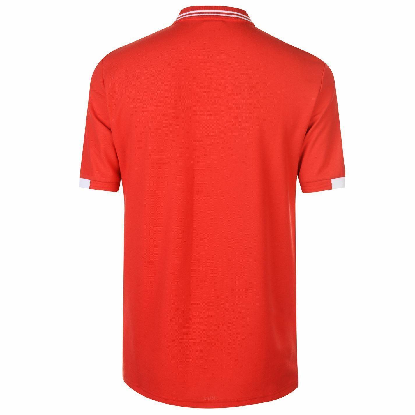 miniature 3 - FIFA Coupe du monde 2018 Angleterre Polo Shirt Homme Football Soccer Top T-Shirt Tee
