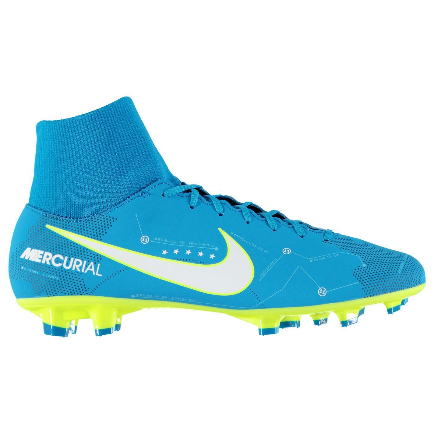 3d891ad8b62 ... Nike Mercurial Victory Neymar Jr DF FG Football Boots Mens Blue Soccer  Cleats ...