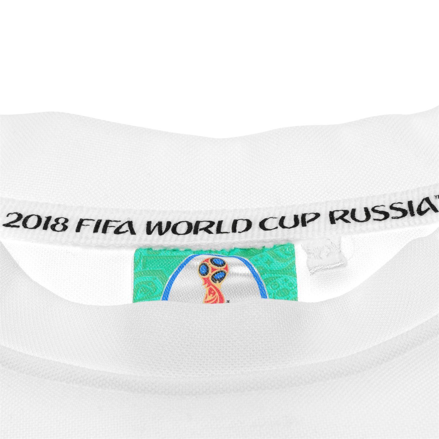 miniature 11 - FIFA Coupe du monde 2018 Angleterre T-Shirt Juniors FOOTBALL SOCCER top tee shirt
