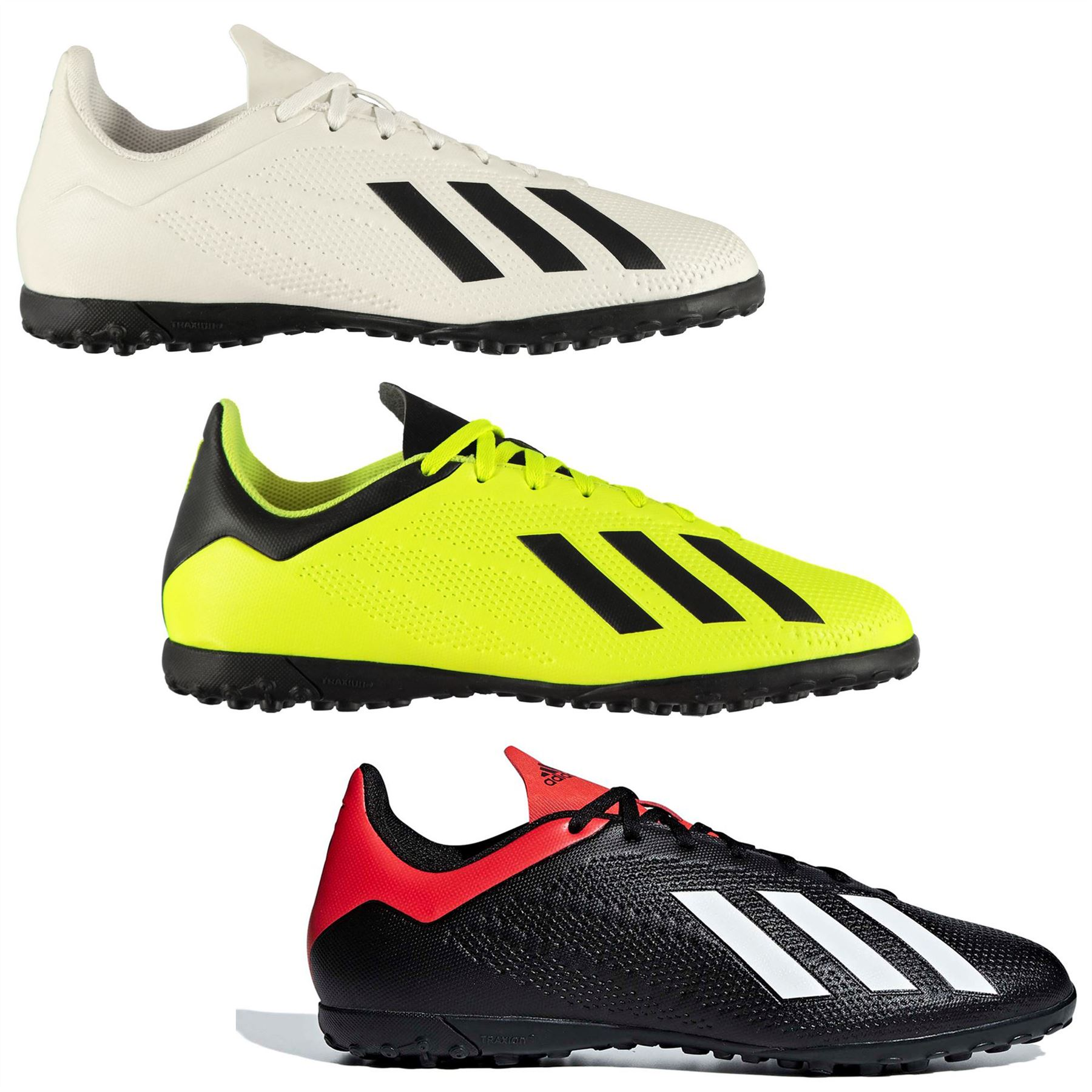 new product a2330 691e5 Details about adidas X Tango 18.4 Astro Turf Football Trainers Mens Soccer  Shoes Sneakers