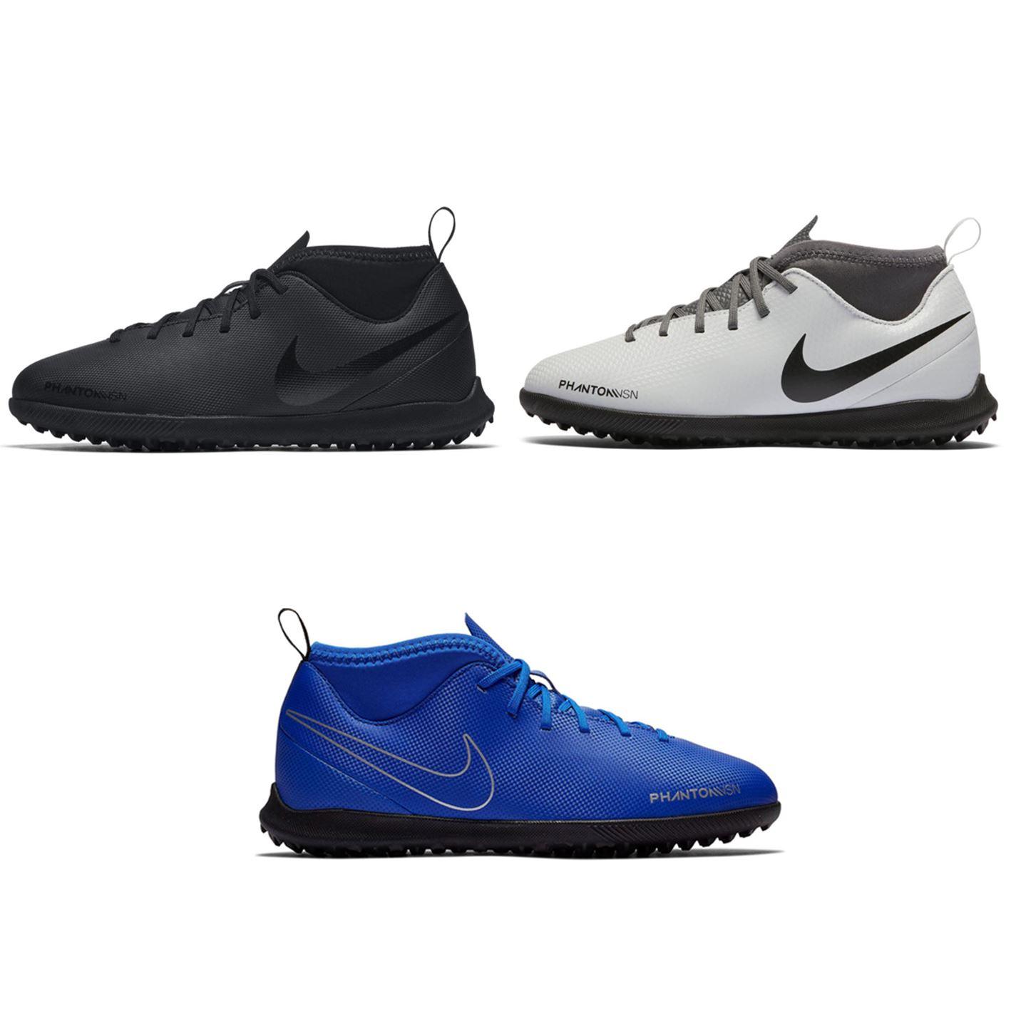 f902858f5a12 ... Nike Phantom Vision Club DF Astro Turf Football Trainers Childs Soccer  Shoes ...