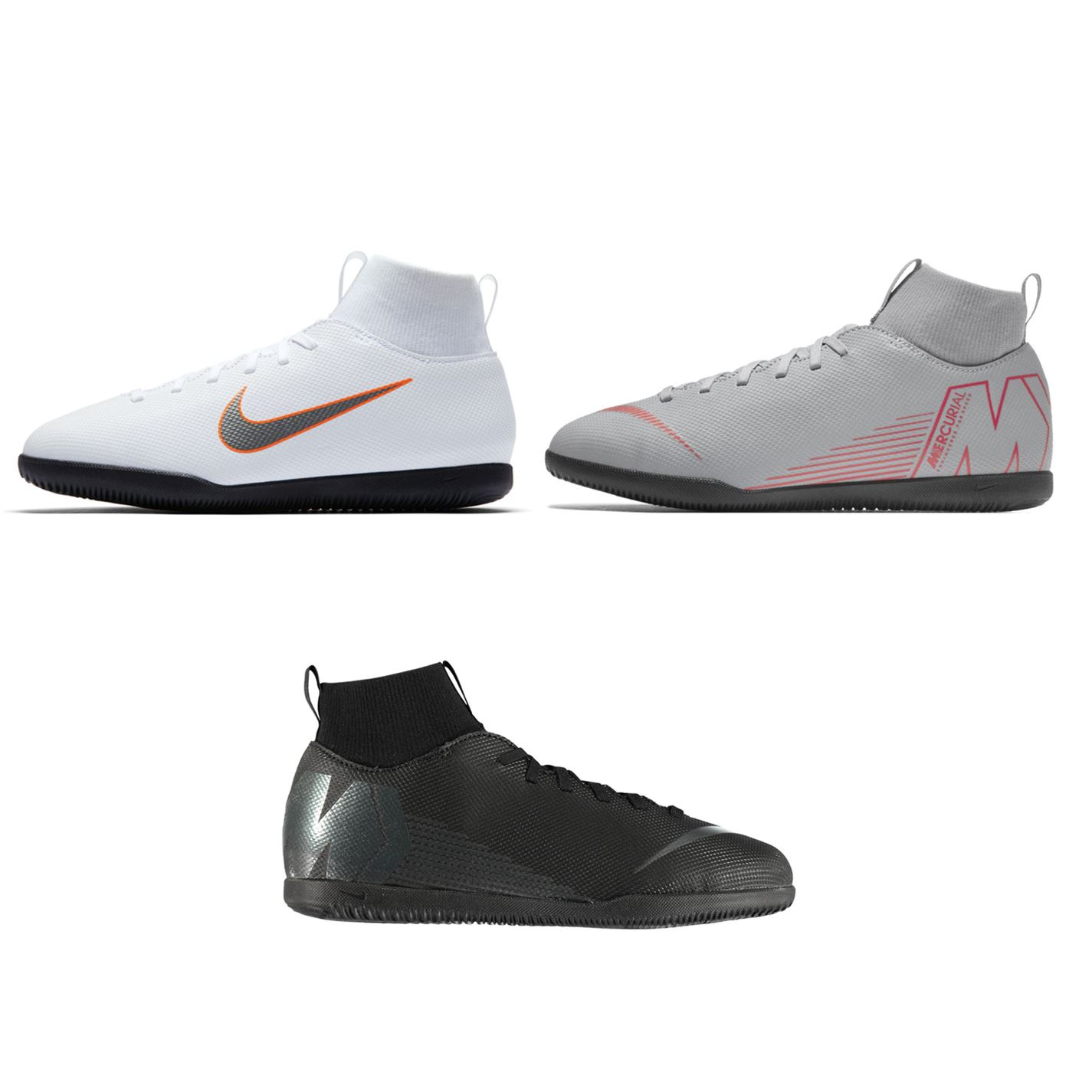 ... Nike Mercurial Superfly Club DF Indoor Football Trainers Juniors Soccer  Shoes ... 5ce6588ba9a