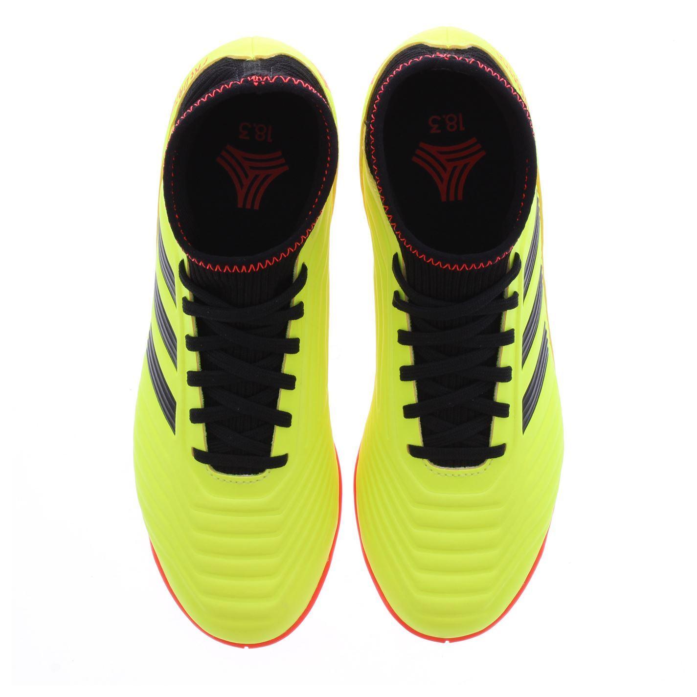 d68448bacea7 ... adidas Predator Tango 18.3 Indoor Football Trainers Juniors Yellow  Soccer Shoes