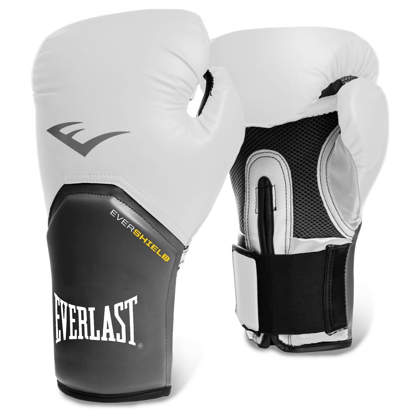 Shiv Naresh Teens Boxing Gloves 12oz: Everlast Elite Training Evershield Boxing Gloves Gym
