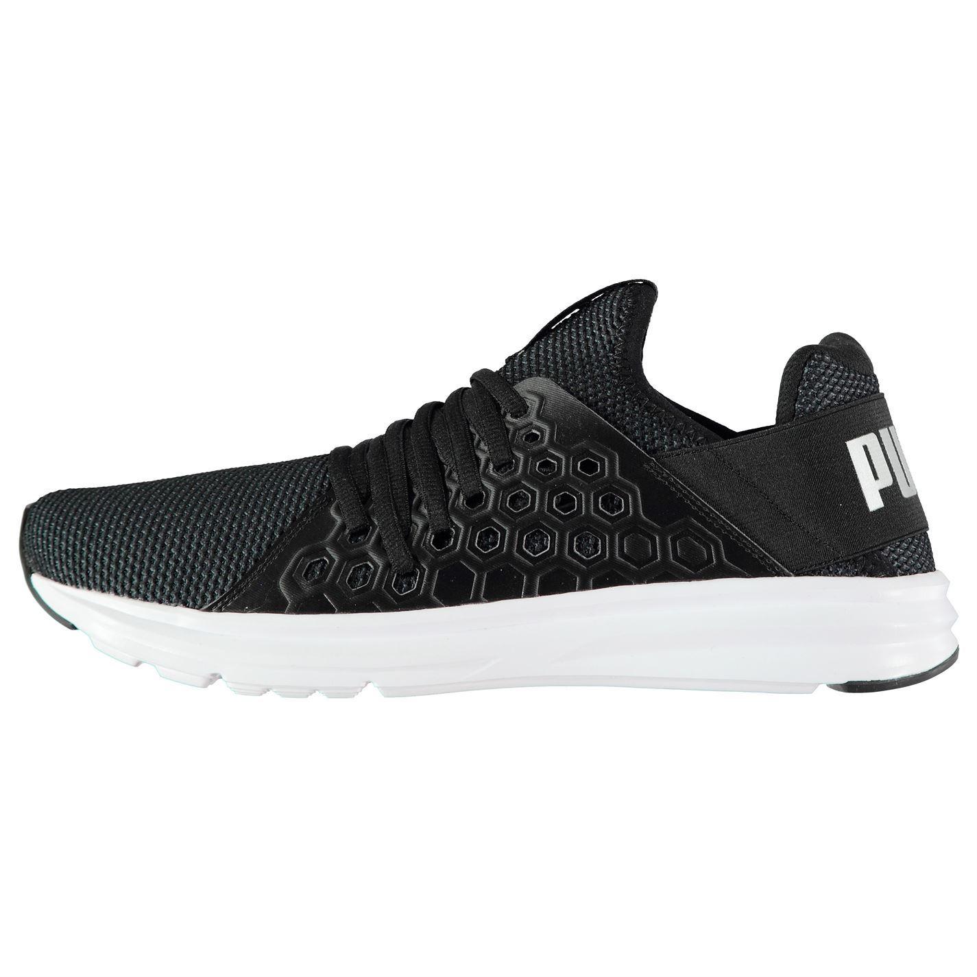 9650ecc3faf3 ... Puma Enzo NF Trainers Mens Black Sports Shoes Sneakers ...