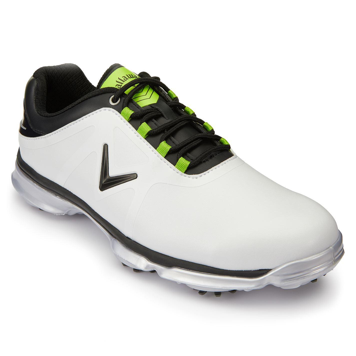 Callaway-XTT-Comfort-Spiked-Golf-Shoes-Mens-Spikes-Footwear thumbnail 14