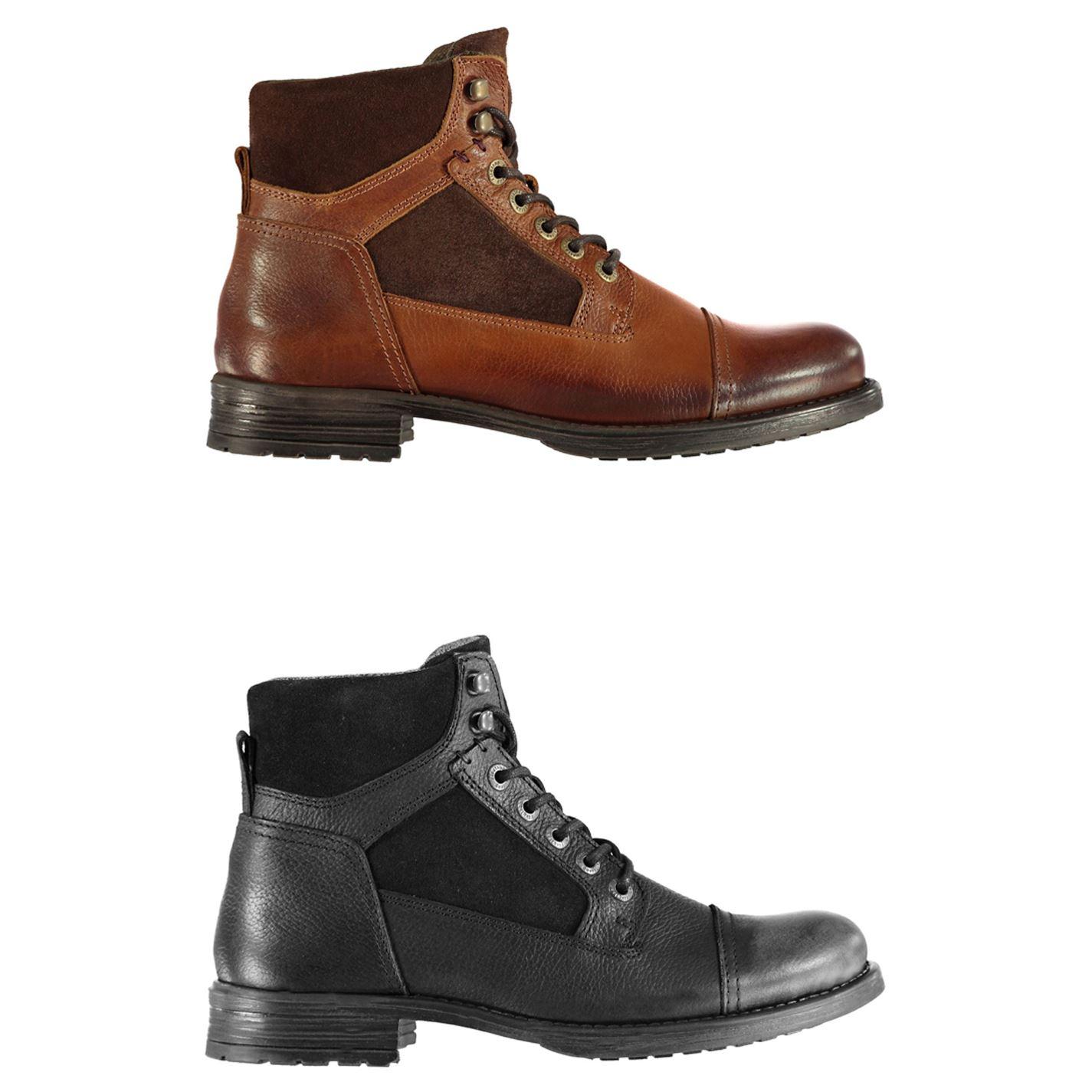 Whitelaw Solide Homme sur Chaussures Détails Chaussures Firetrap Bottines zSpUVM
