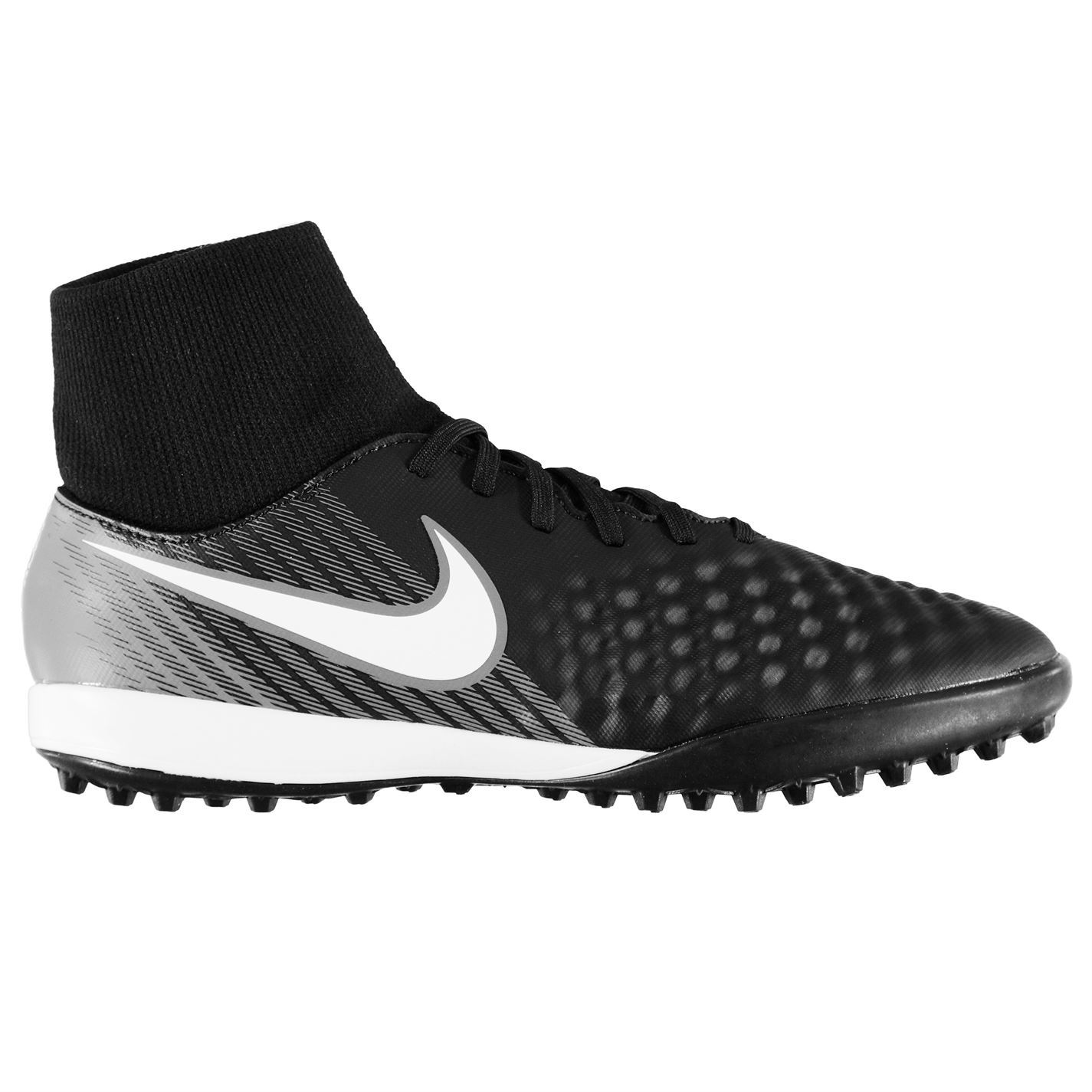 66e6438fc31 ... Nike Magista Onda II DF Astro Turf Football Trainers Mens Black Soccer  Shoes ...