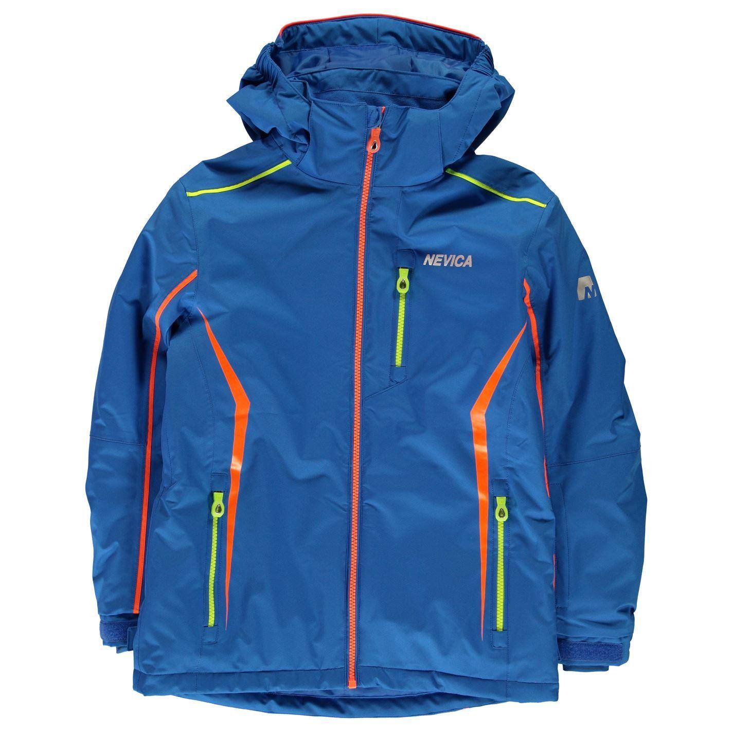 ... Nevica Meribel Jacket Junior Boys Snow Coat Skiing Outerwear 749ddfe6ddc