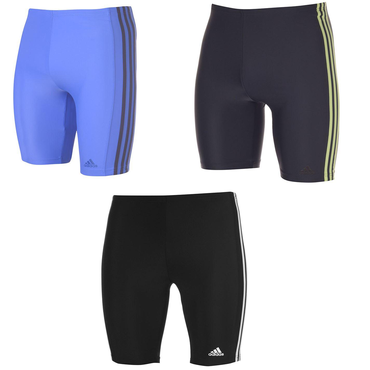 Details zu Adidas 3 Streifen Jammer Herren Hose Bademode Sportkleidung Eu 30 SchwarzWeiß