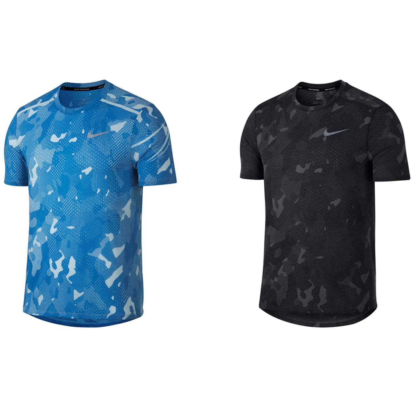 cf0600fc Nike Tailwind Camouflage Running Top Mens Jogging Fitness Workout T-Shirt  Tee