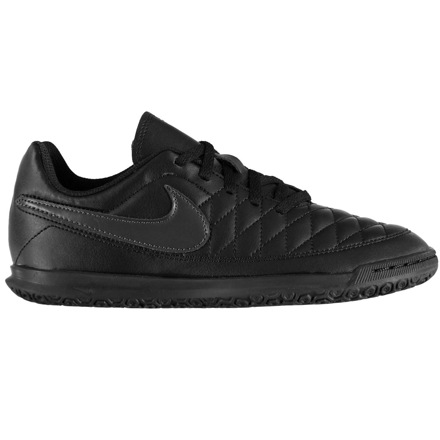 Nike-majestry-Indoor-Court-Football-formateurs-juniors-Football-Baskets-Chaussures miniature 5