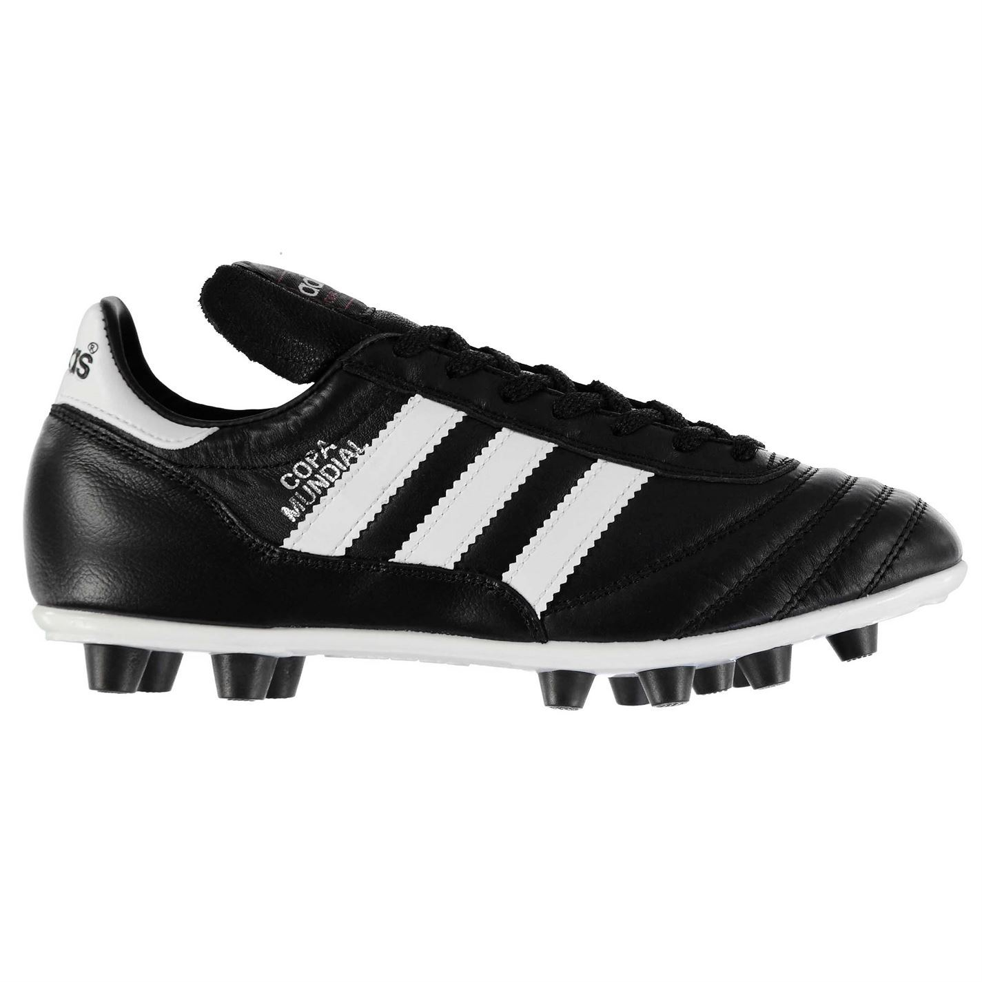 innovative design d1ee4 5cbf0 ... adidas Copa Mundial FG Firm Ground Football Boots Juniors Black Soccer  Shoes ...