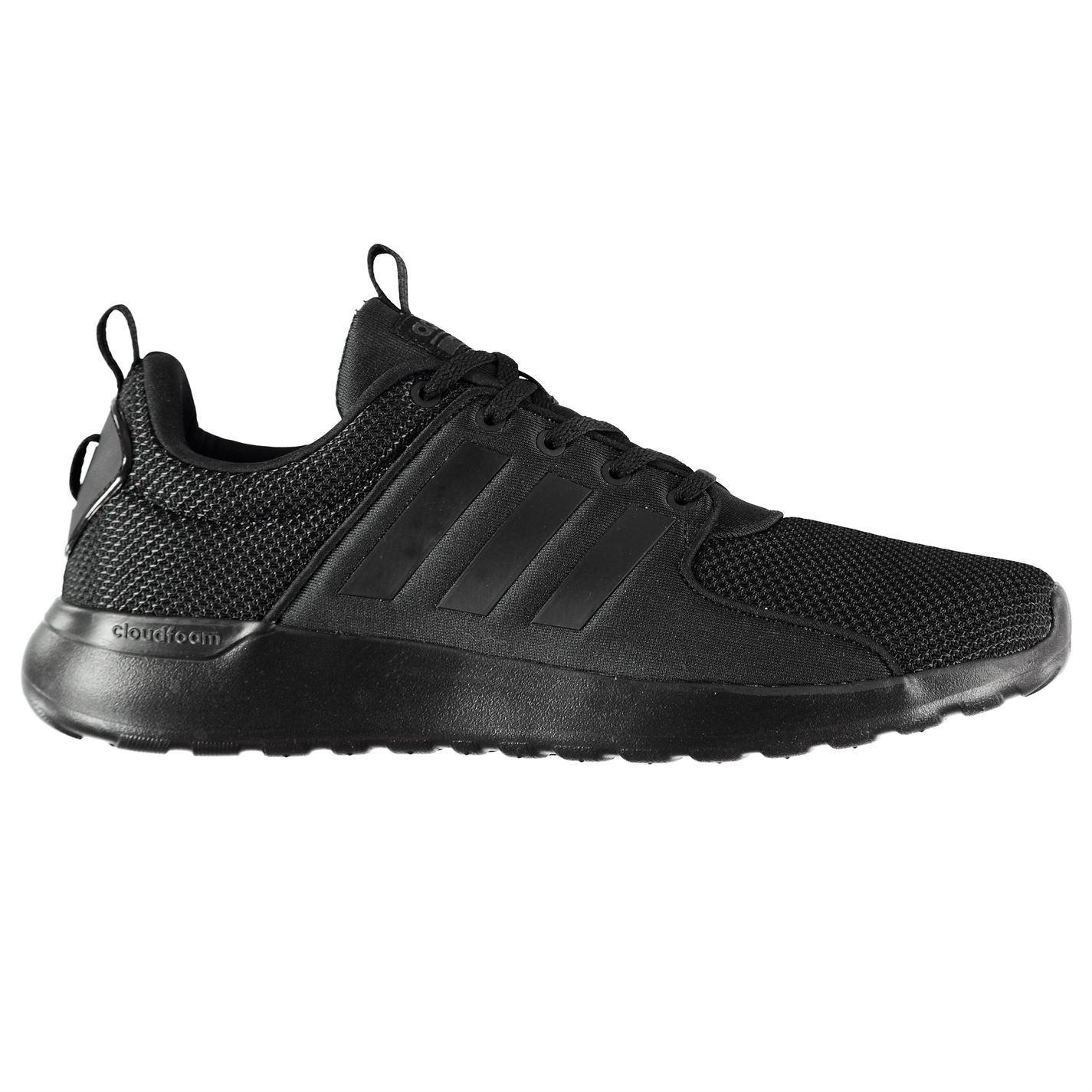 7d8ec8e0fc491b ... adidas Cloudfoam Lite Racer Trainers Mens Black Sports Shoes Sneakers  ...