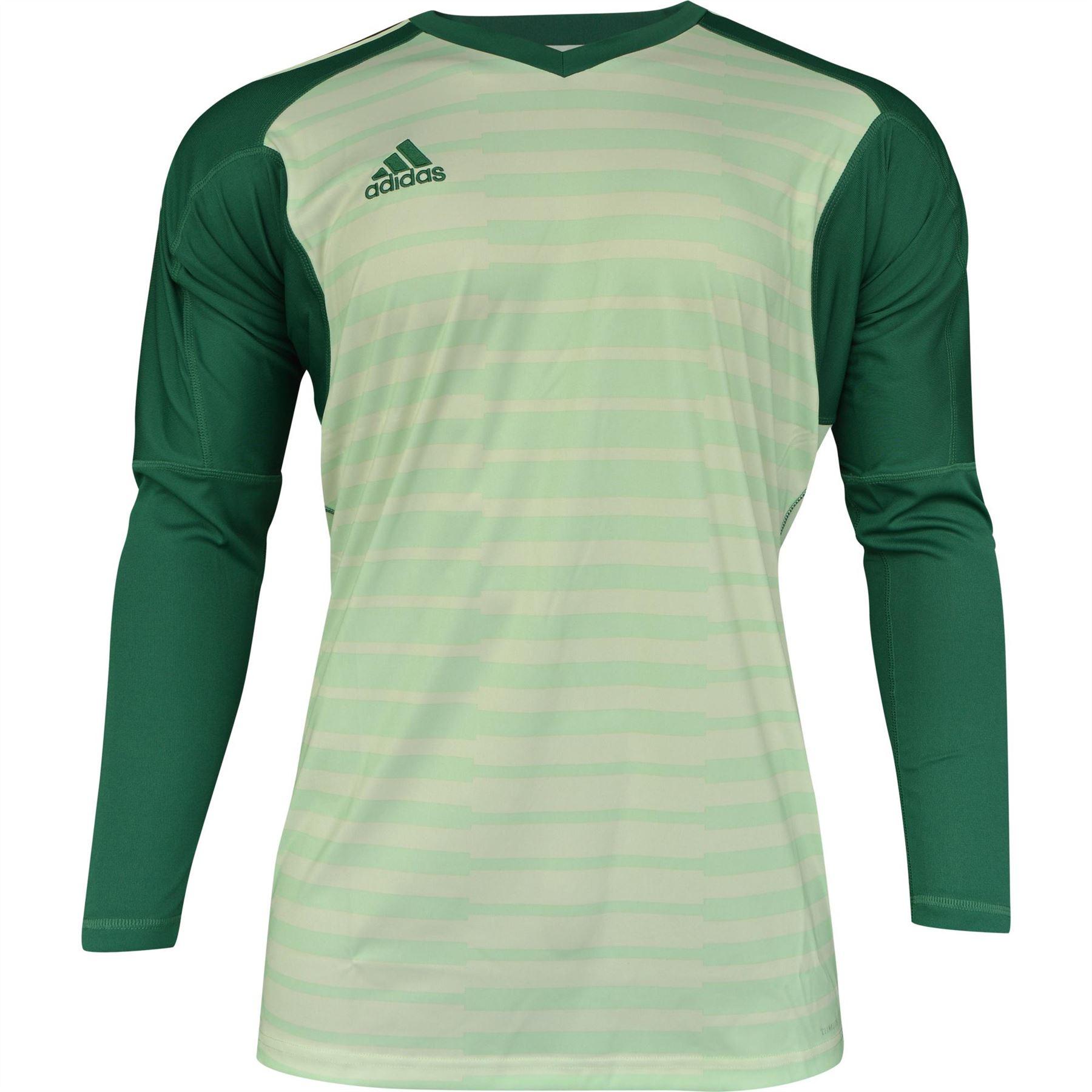 miniature 6 - ADIDAS adiPro 18 Gardien De but Chemise Homme Football Soccer Gk Jersey Top T-Shirt