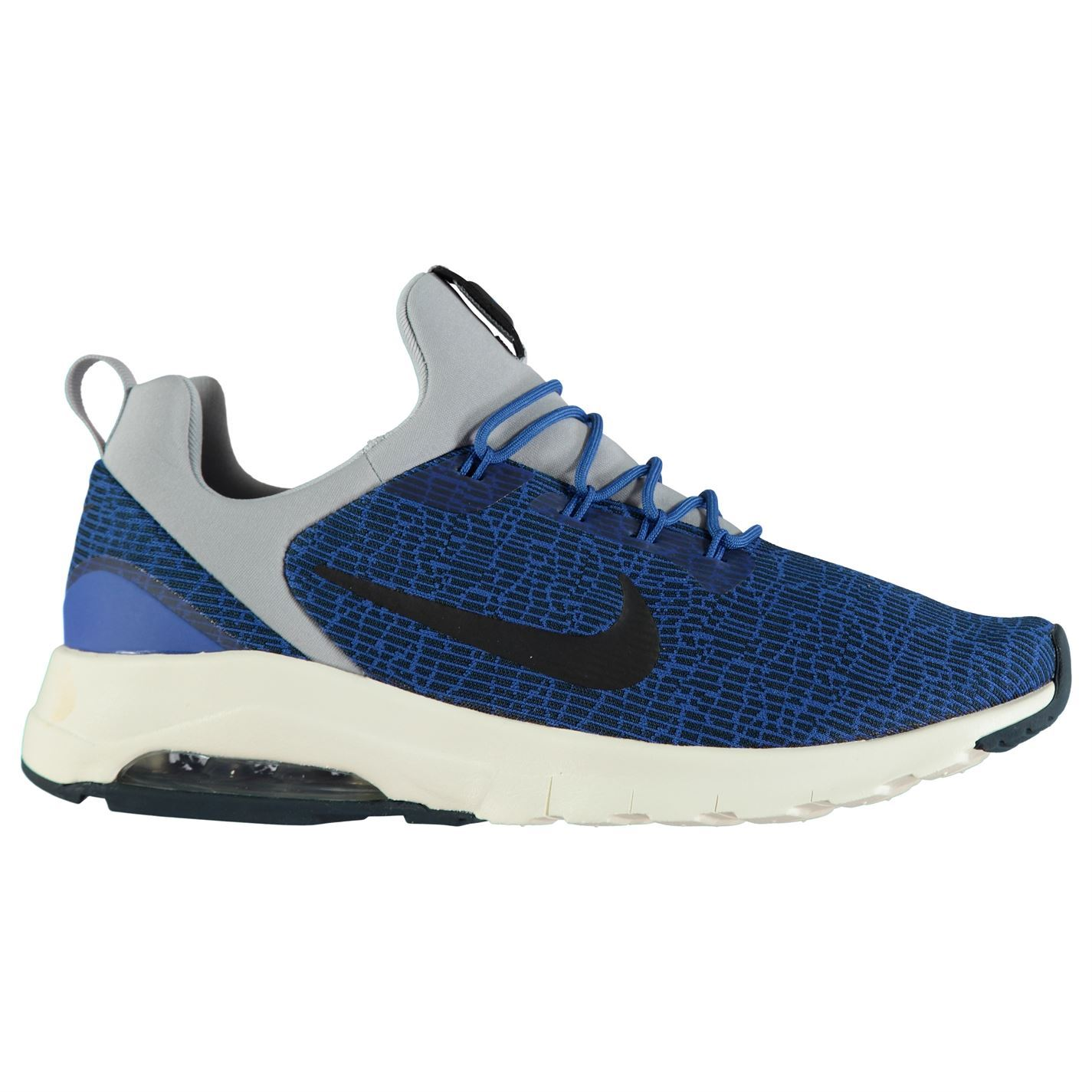 sale retailer f8e8d 05da4 ... Nike Air Max Motion Trainers Mens Blue Black Navy Athletic Sneakers  Shoes ...