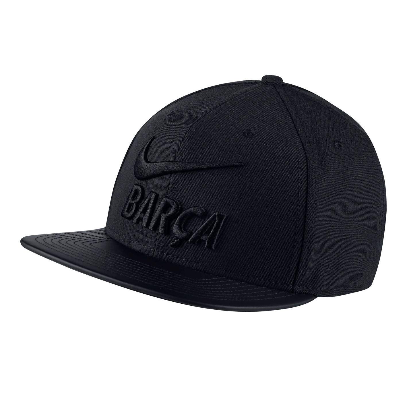 cd63f16106190d Nike Pro FC Barcelona Cap Mens Baseball Hat Headwear | eBay
