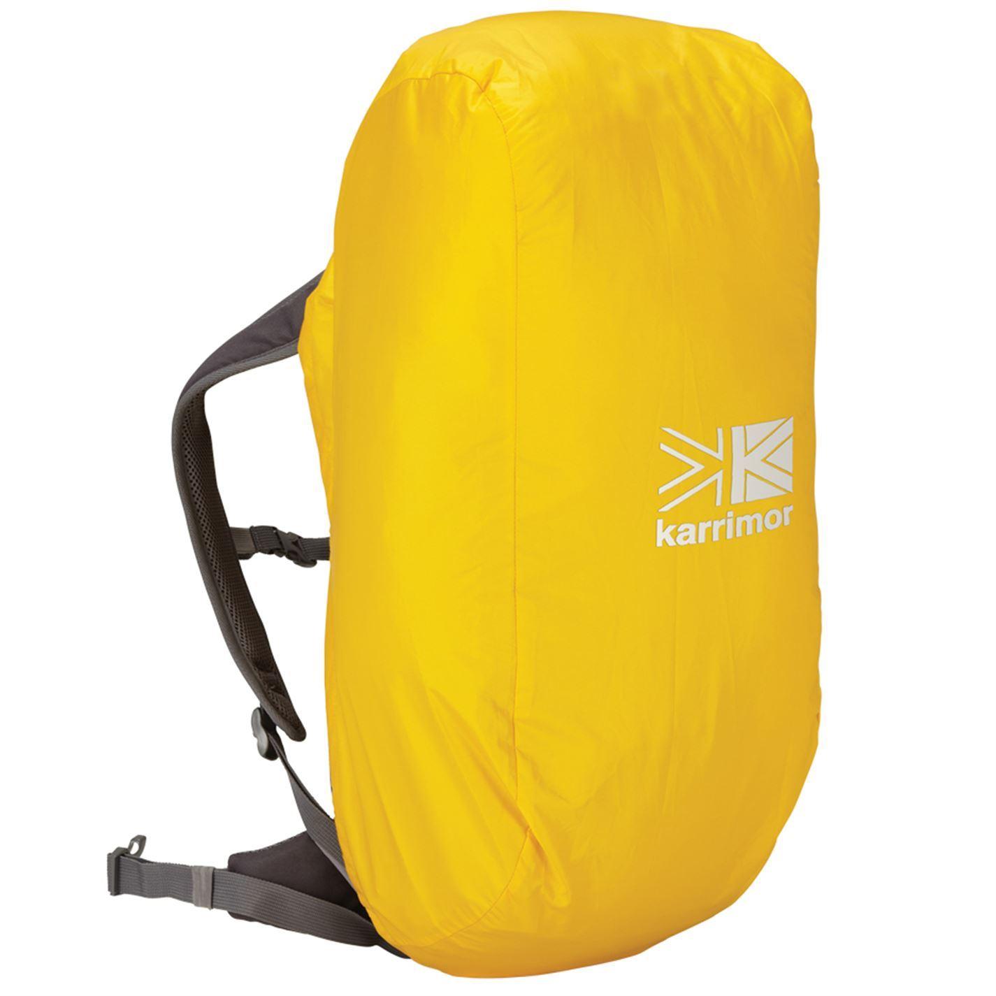 Karrimor Rucksack Rain Bag Cover Yellow Outdoors