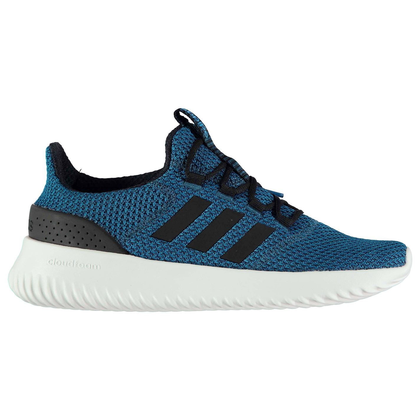 adidas Cloudfoam Ultimate Trainers Mens Blue/White Athletic Sneakers Shoes