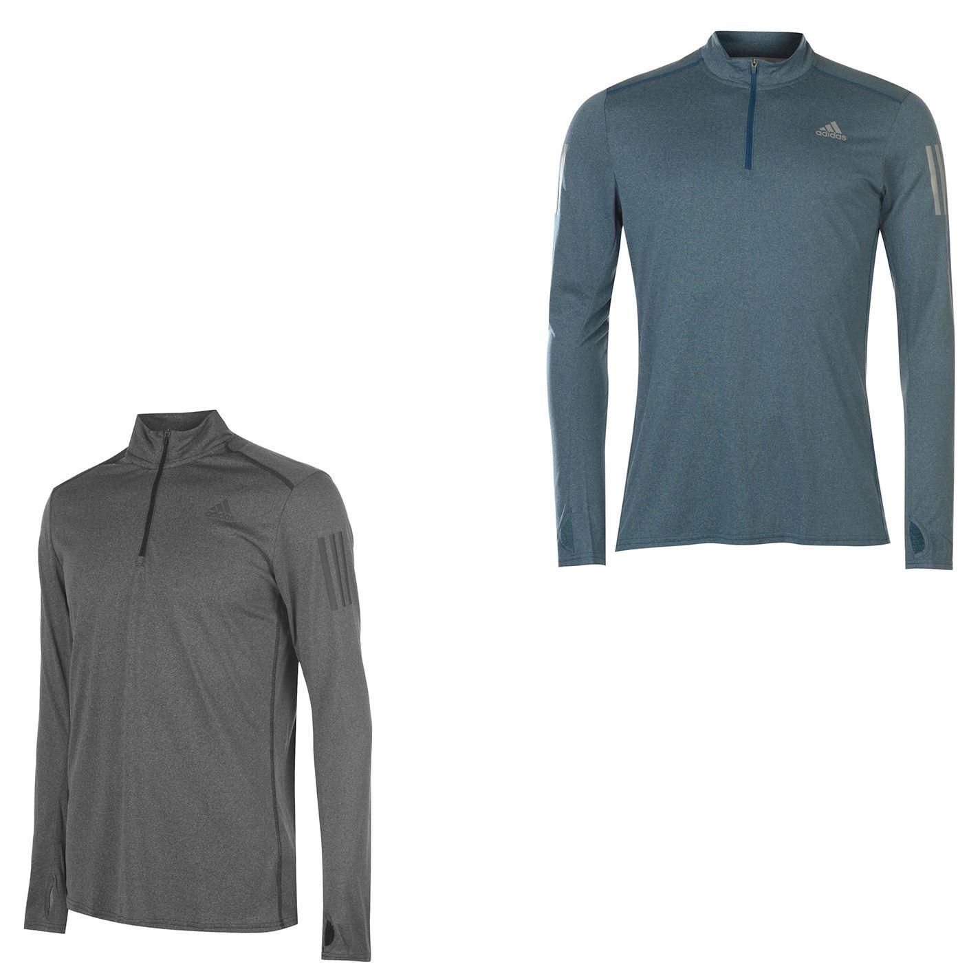 adidas Response LS Zip Shirt Herren