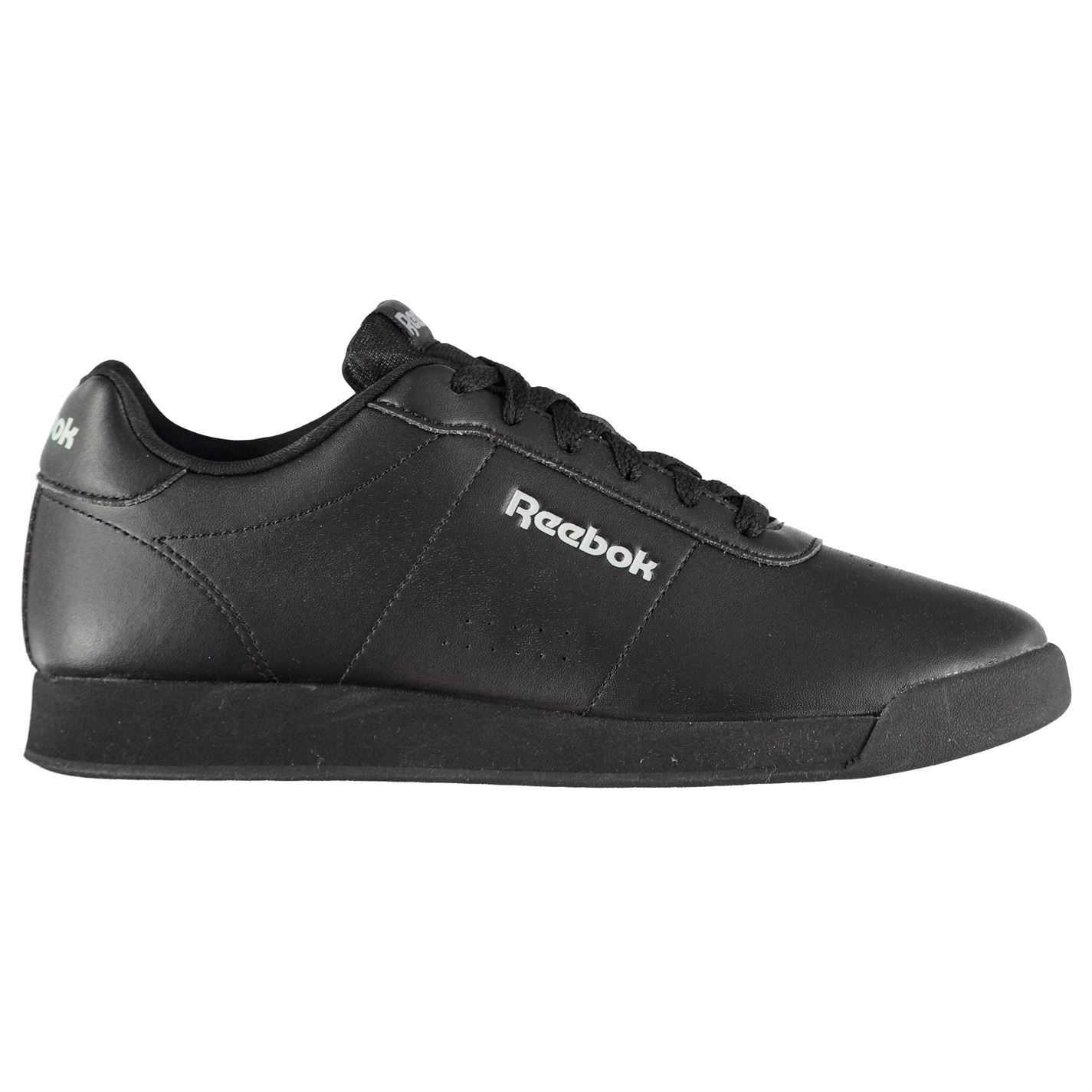 Details about Reebok Royal Charm Trainers Womens Black Sports Trainers  Sneakers 82b9dd155