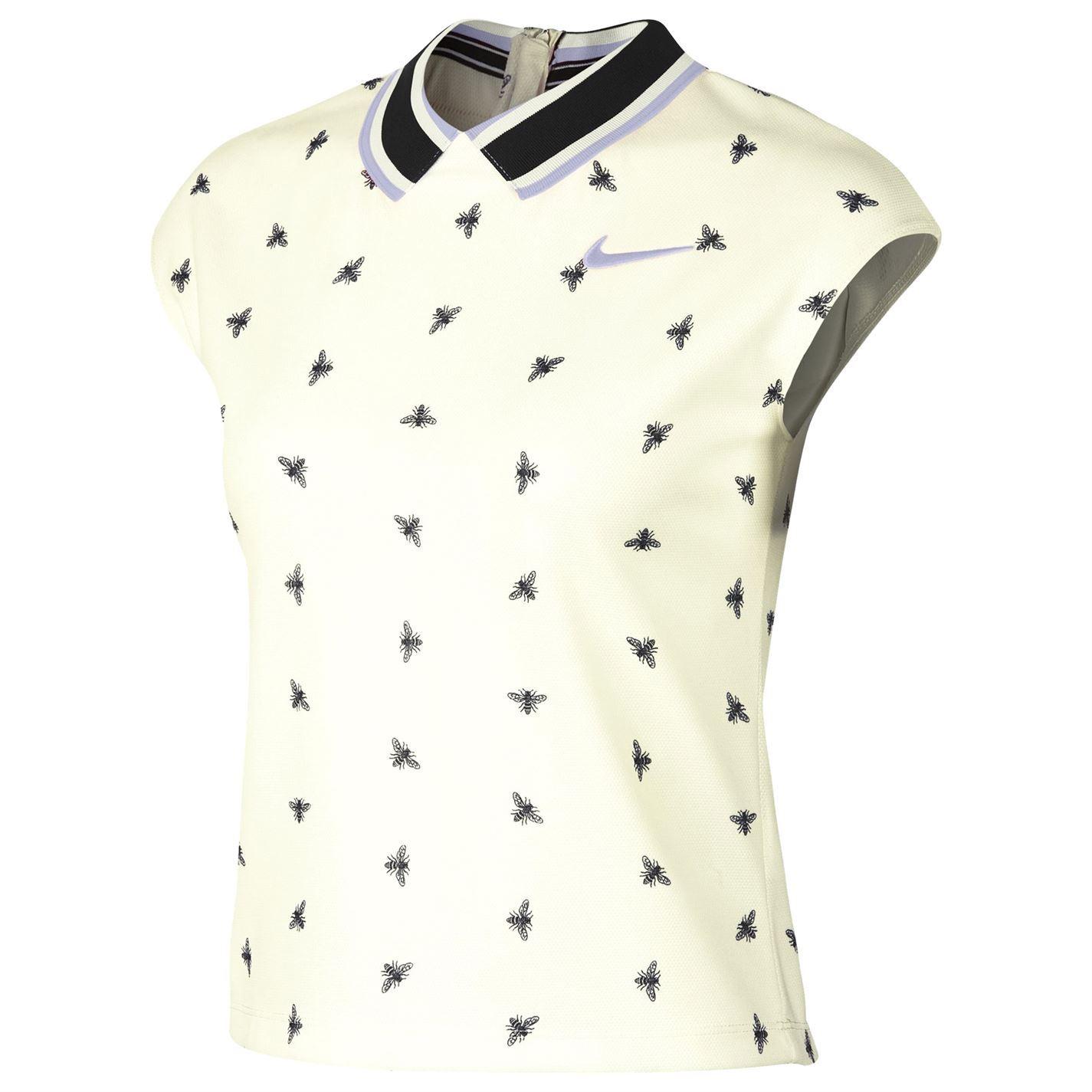 Détails sur Nike Escarpin Drifit T Shirt Femmes Tennis Haut T Shirt Vêtement de Sport