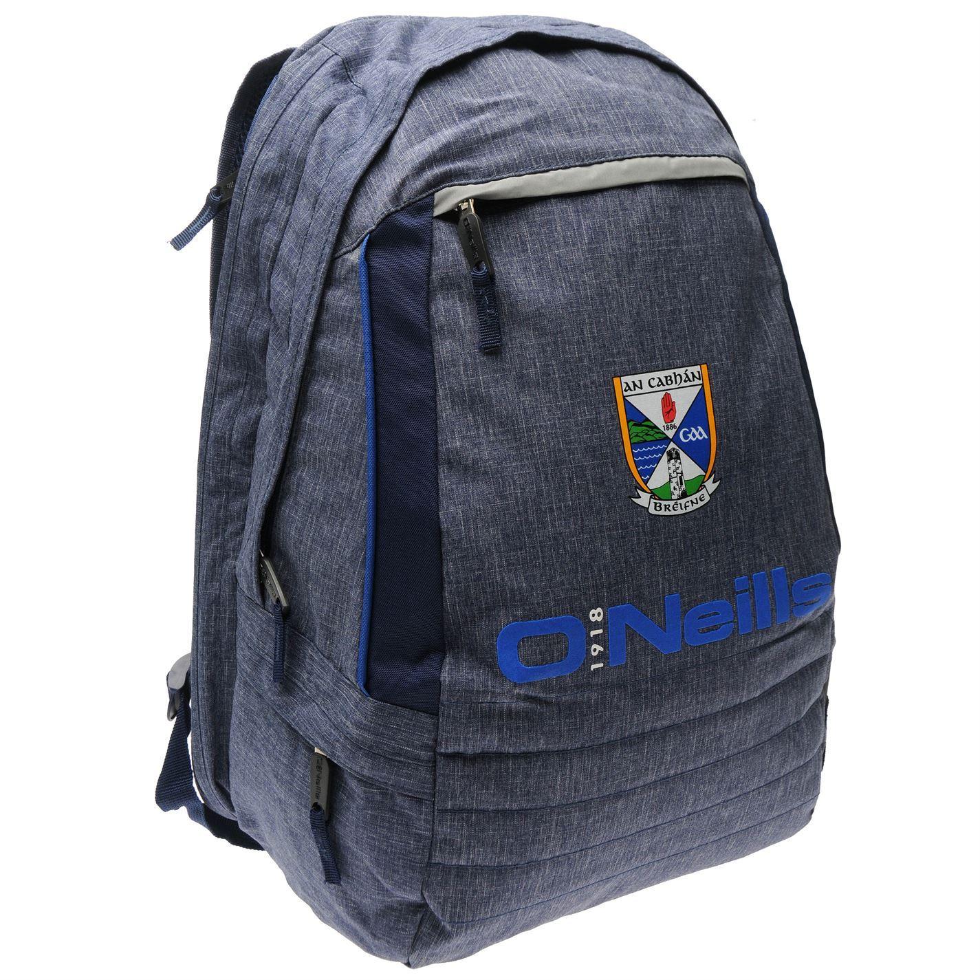 c93744b2c2885b ... O'Neills Cavan GAA Gaelic AA Falcon Backpack Marine Sports Bag Rucksack  ...