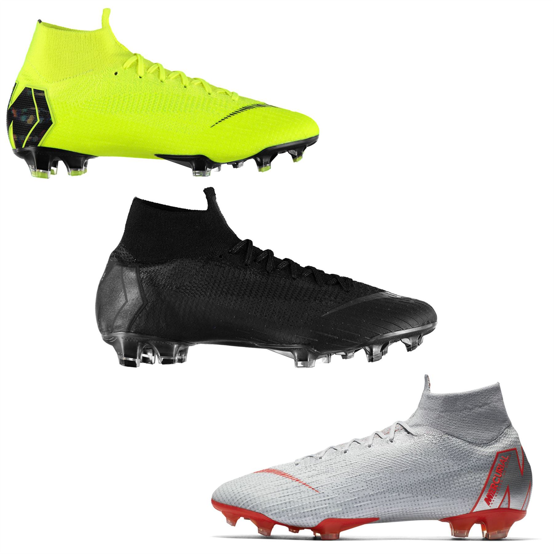 608ad348a9a ... Nike Mercurial Superfly Elite DF Firm Ground Football Boots Mens Soccer  Cleats ...