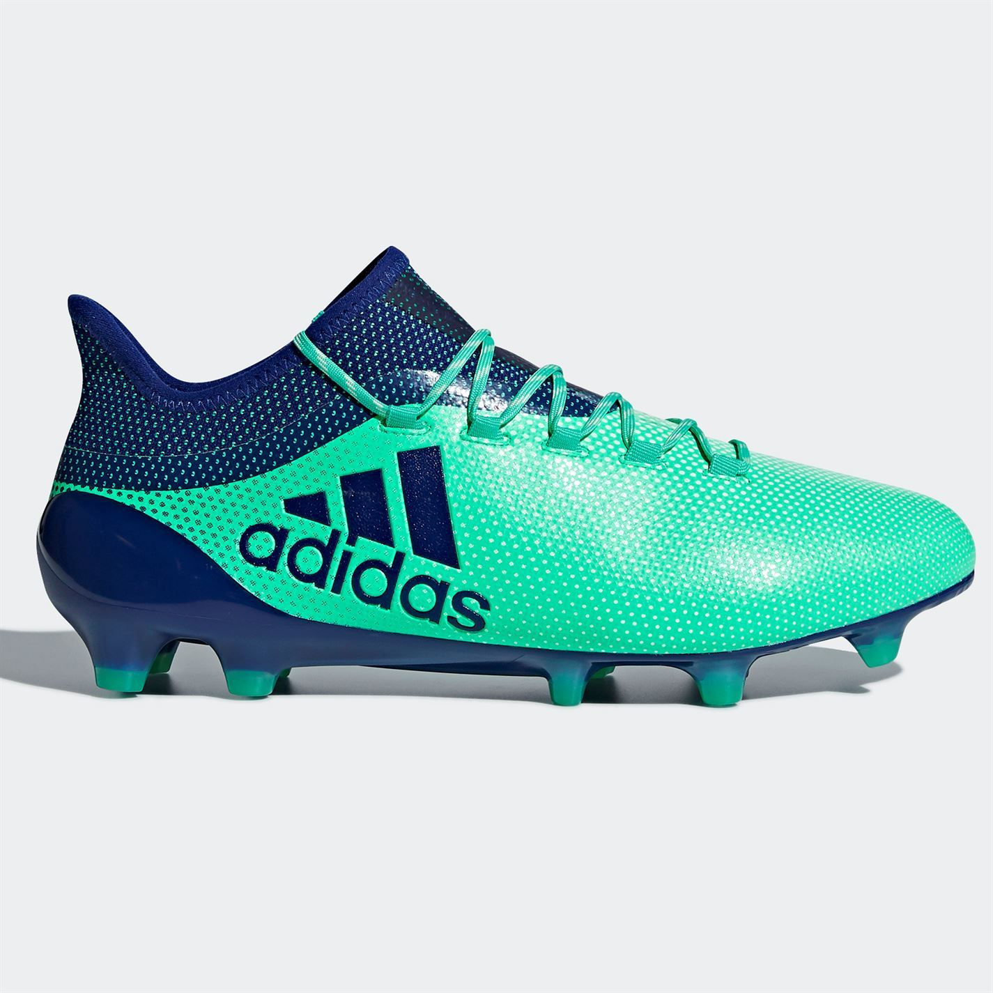 75e2944b174f13 ... adidas X 17.1 FG Firm Ground Football Boots Mens Green/Ink Soccer Shoes  Cleats ...