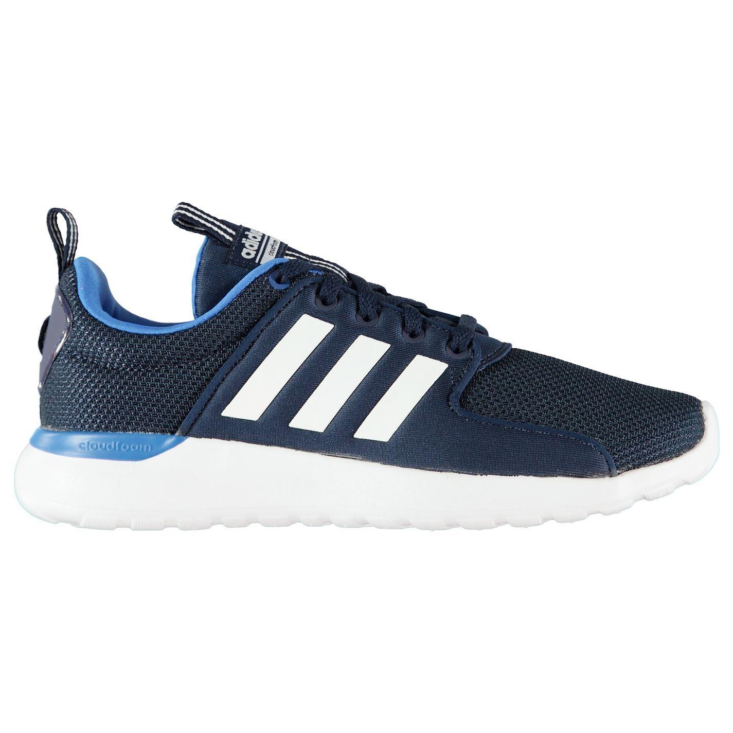 adidas cloudfoam trainers men blue