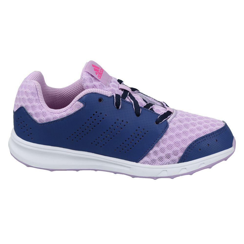 Détails sur Adidas Lk Sport 2 Chaussures de Course Junior Filles VioletBleu