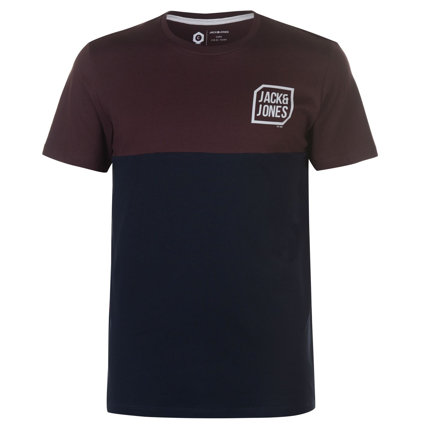 Jack-and-Jones-Core-Tern-T-Shirt-Mens-Tee-Shirt-Top thumbnail 9