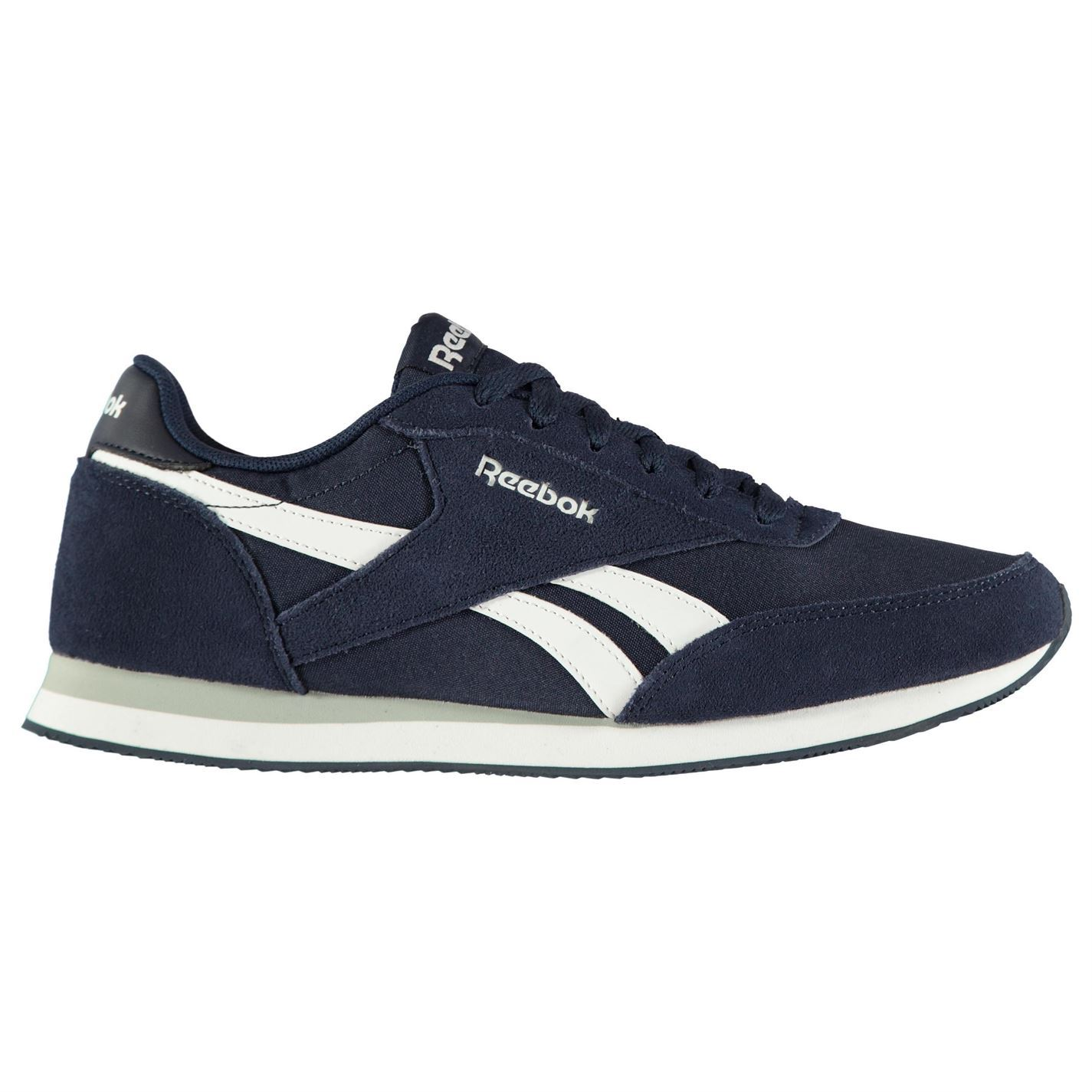 929a468436fe8b Details about reebok classic jogger trainers mens navy white sports shoes  sneakers jpg 1425x1425 Reebok classic