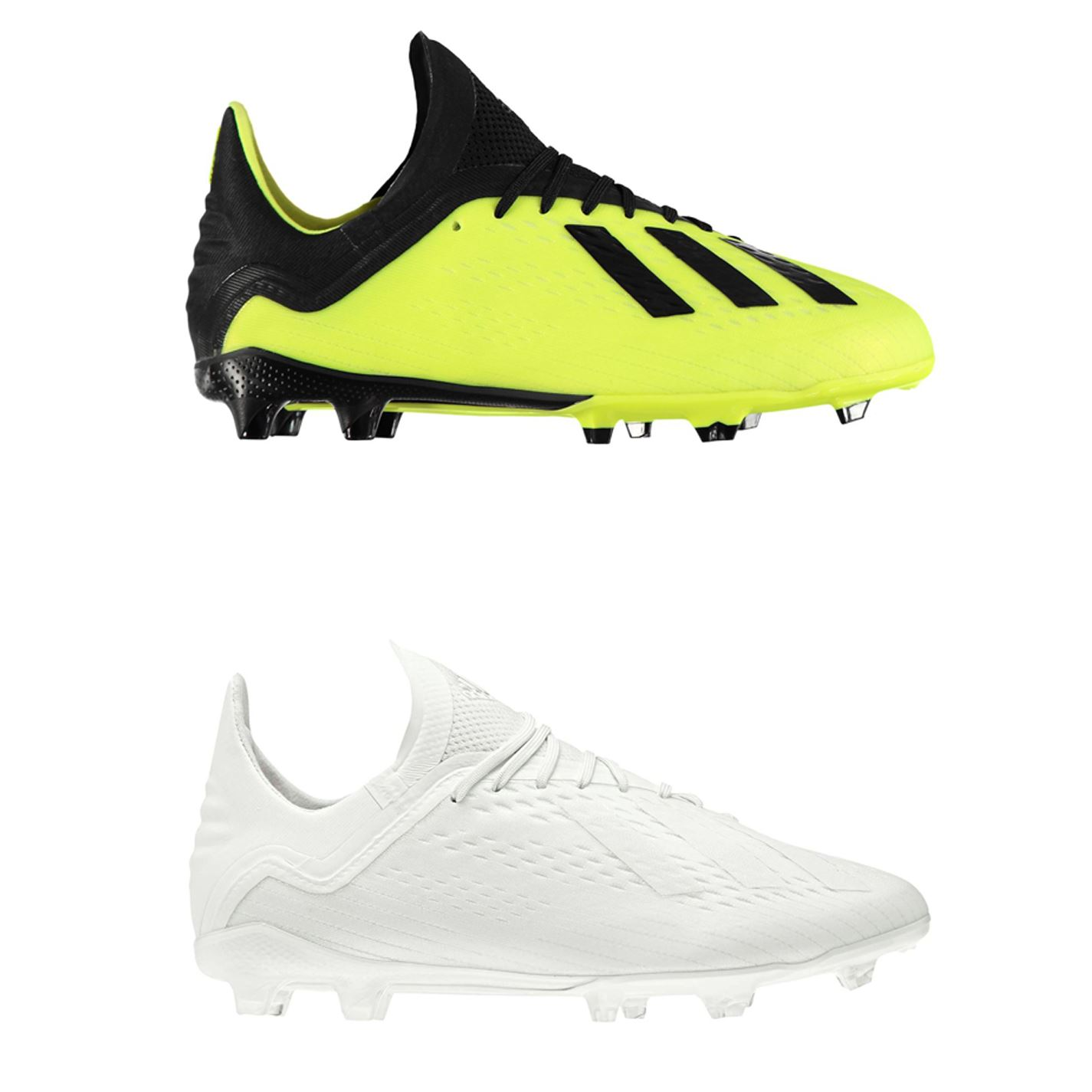a4f935482a9 ... adidas X 18.1 FG Firm Ground Football Boots Childs Soccer Shoes Cleats  ...