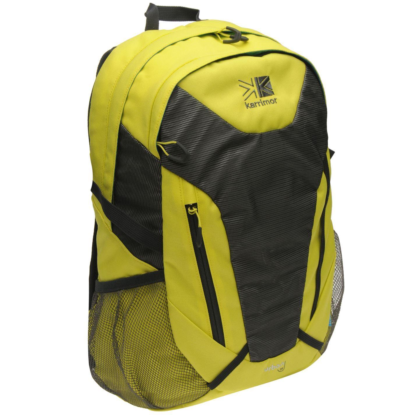 00f808a7b0 ... Karrimor Urban 30 Litre Rucksack Yellow Outdoors Bag Backpack Knapsack  Holdall ...