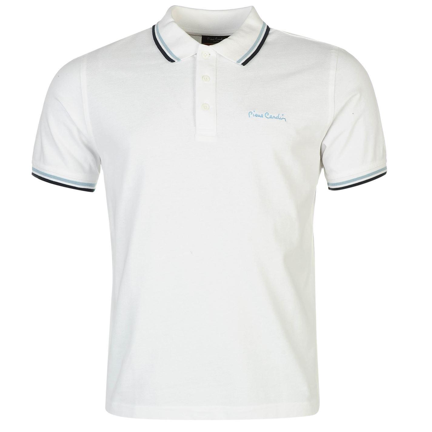 Pierre-Cardin-Tipped-Polo-Shirt-Mens-Top-Tee-Casual-Collar-T-Shirt thumbnail 5