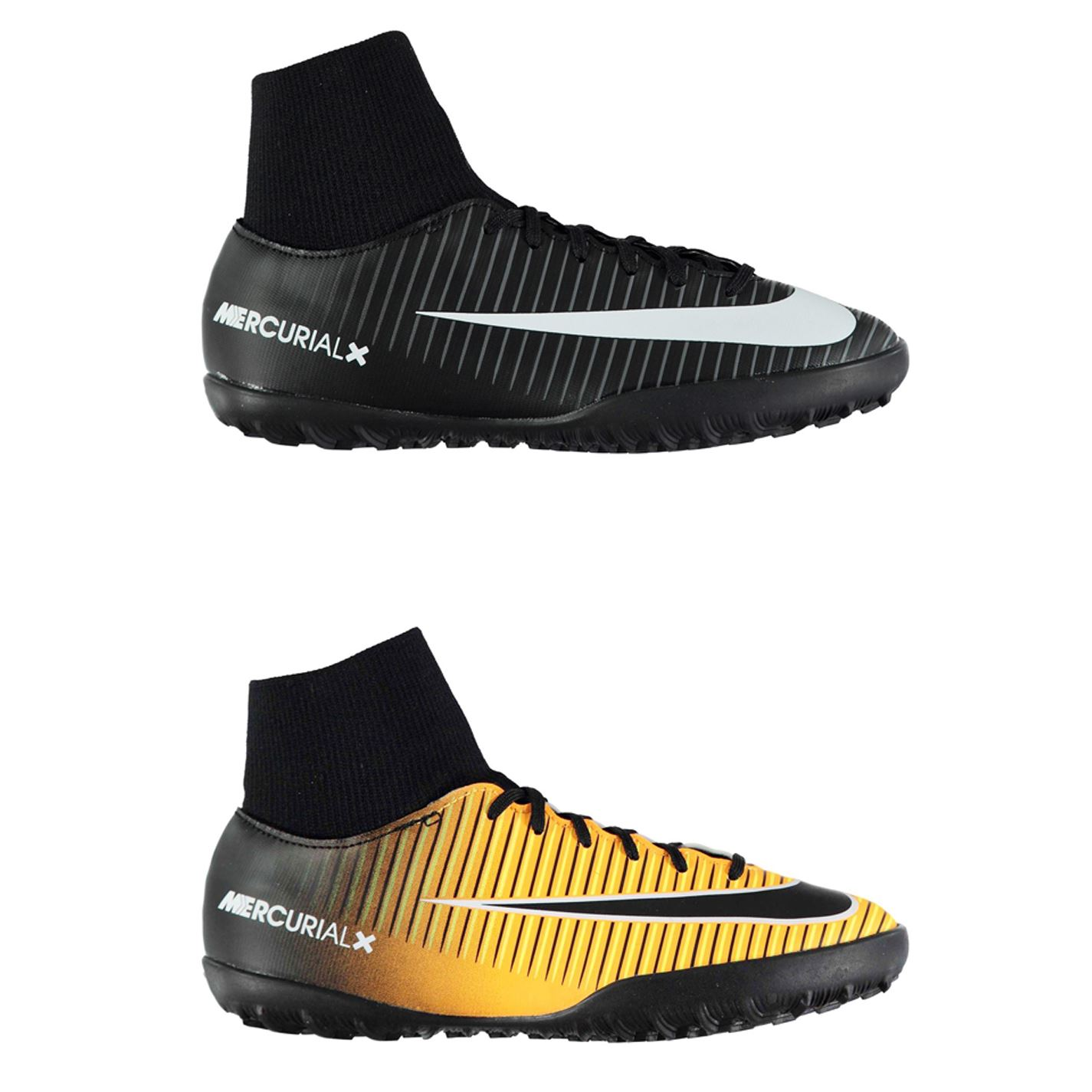 wholesale dealer bf7e0 b6a17 Details about Nike Mercurial Victory DF Astro Turf Football Trainers  Juniors Soccer Shoes