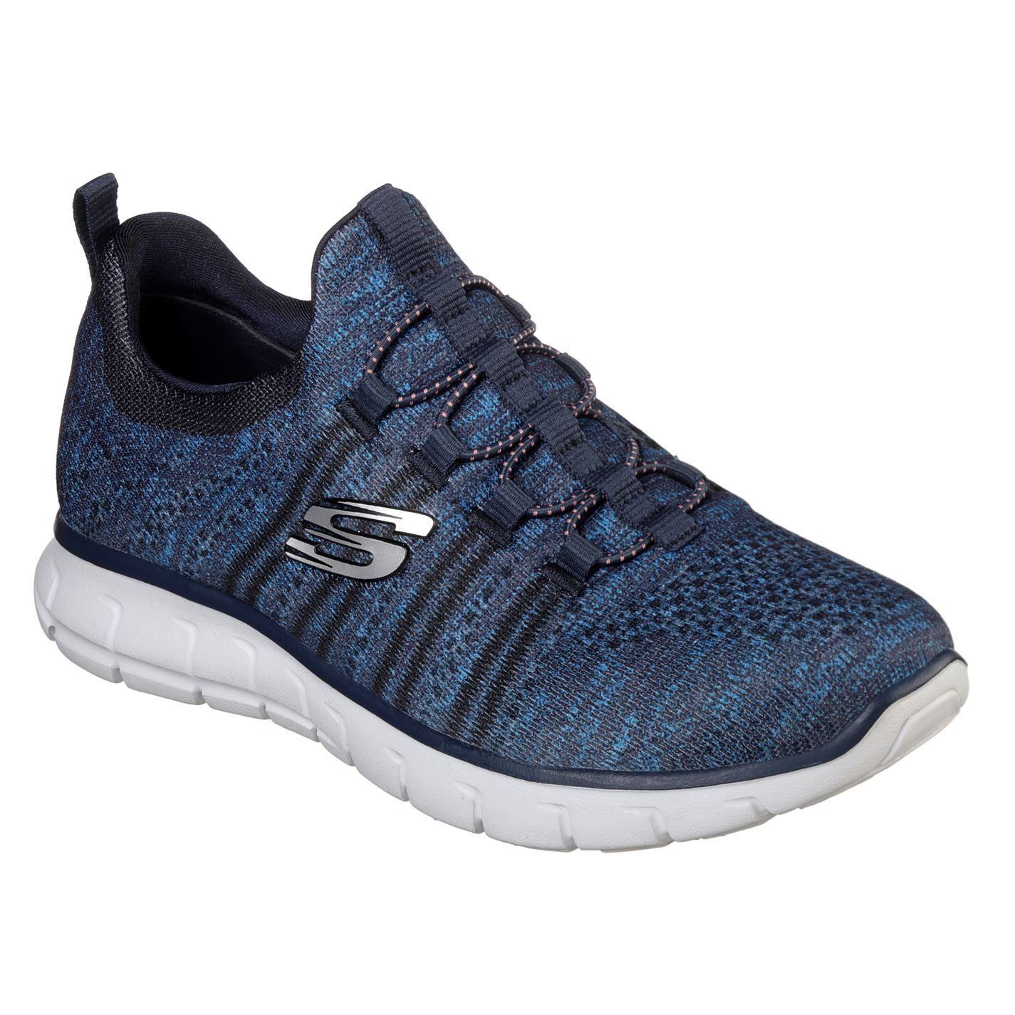 size 40 6b261 981bd ... Skechers VIM Knit Shoes Ladies Womens Footwear