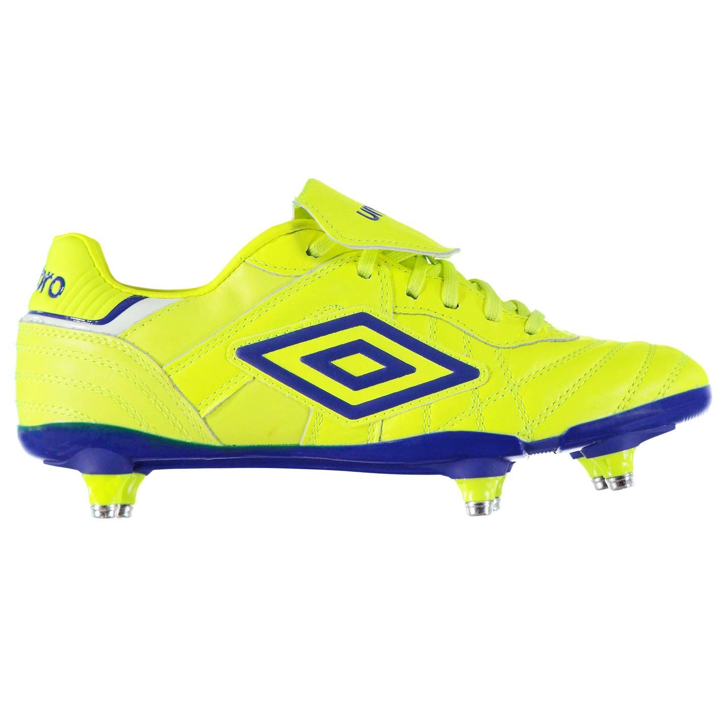 12f31be5b Details about Umbro Speciali Eternal Pro Soft Ground Football Boots Mens  Blue Soccer Cleats