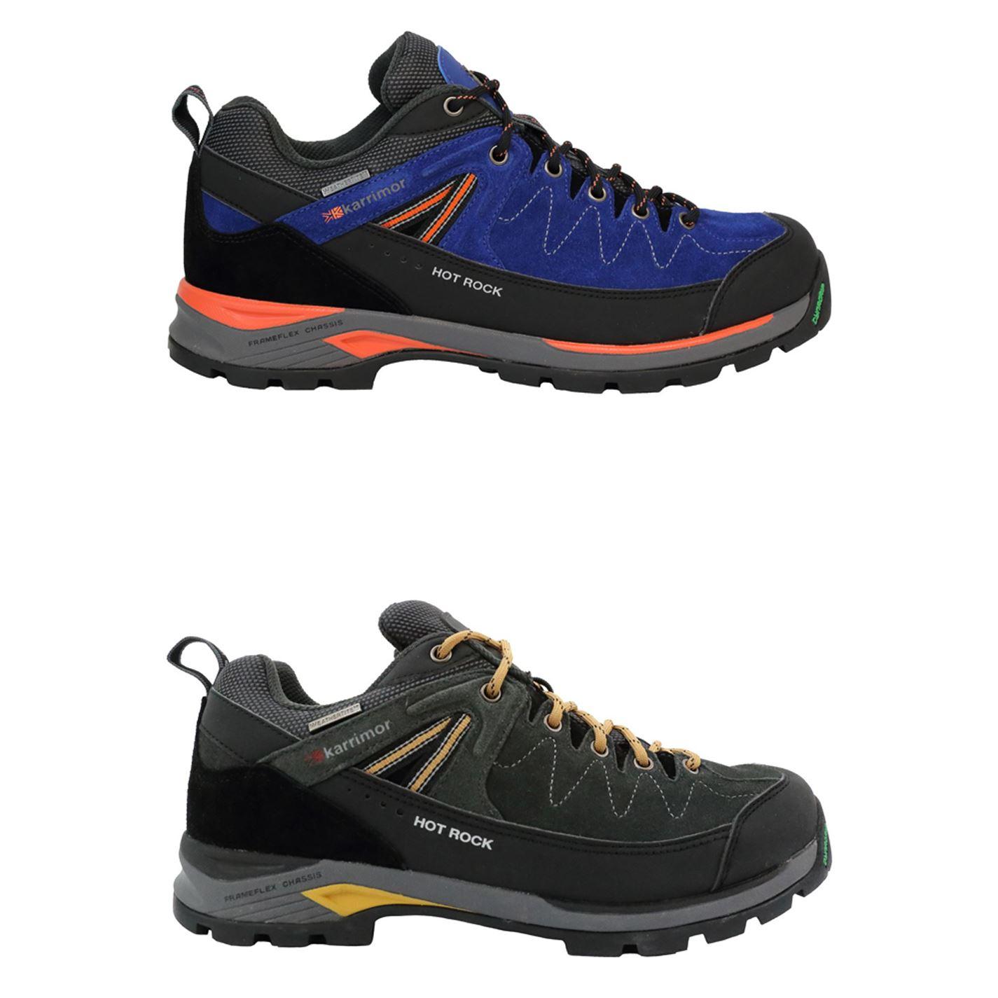 Karrimor Hot Rock Low Walking Shoes Mens Hiking Footwear Boots