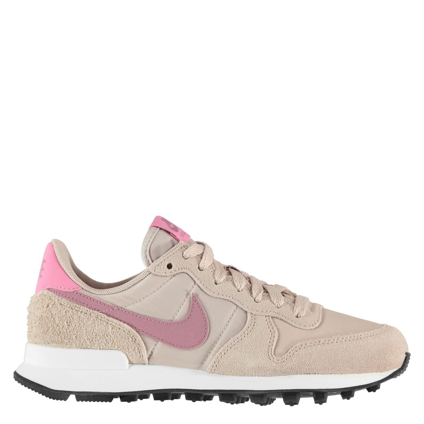 inundar Delgado aleación  Nike Internationalist Womens Running Trainers Beige Ladies Footwear Shoes |  eBay