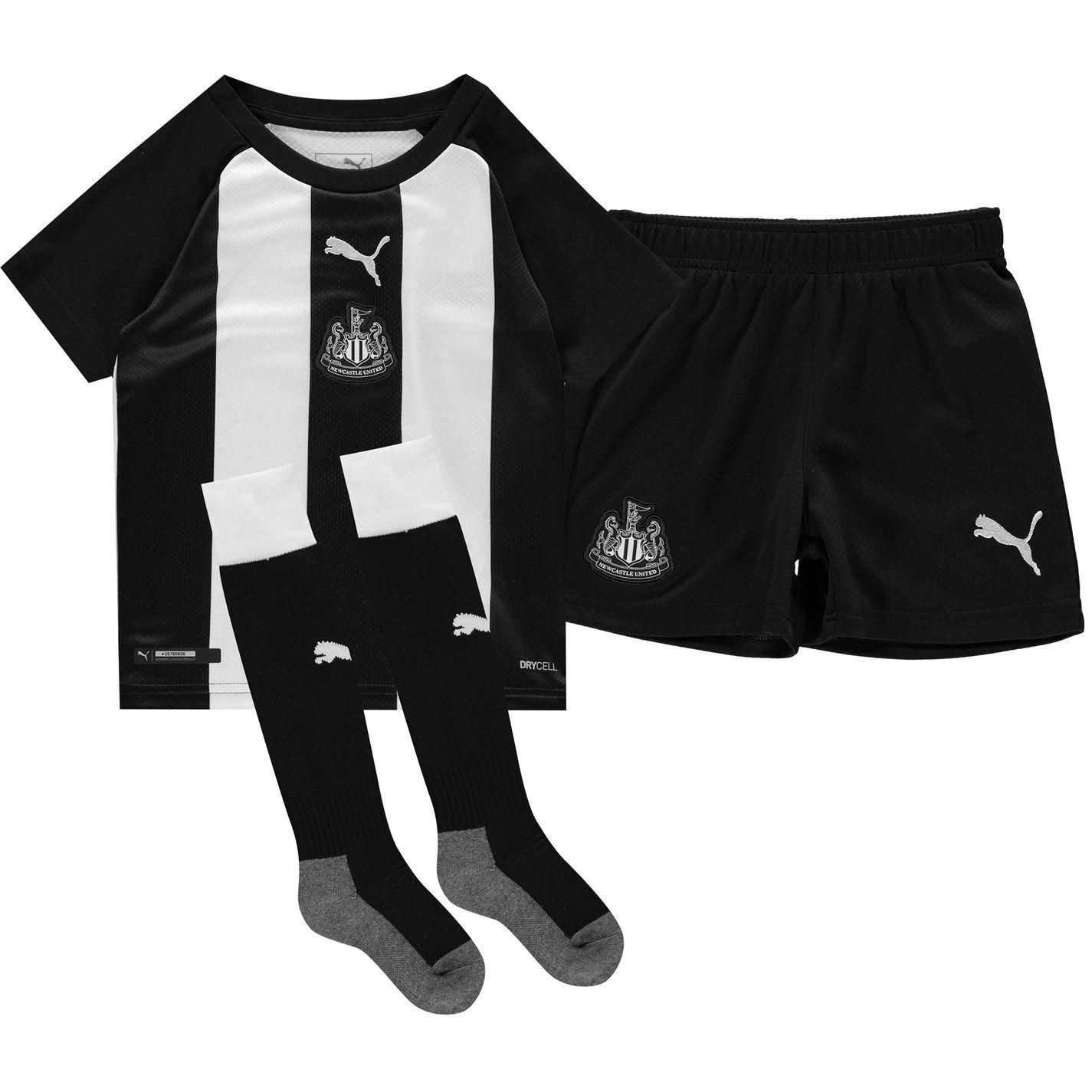 Short Puma Newcastle United 201819 Domicile + Extérieur Noir Or