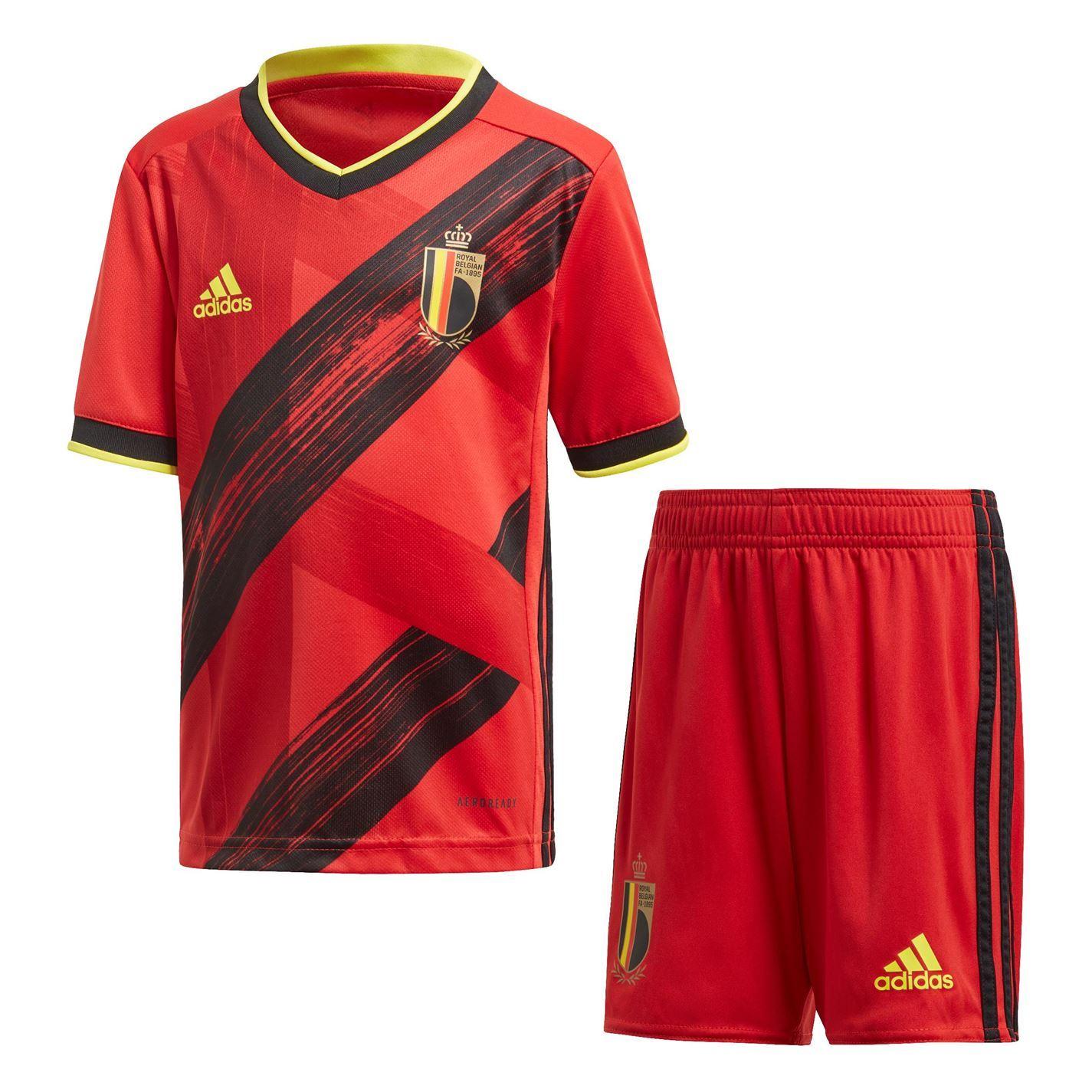 Coupe du monde 2018 Belgique Belgium T-shirt maillot Nom Numéro mini Coupe du Monde