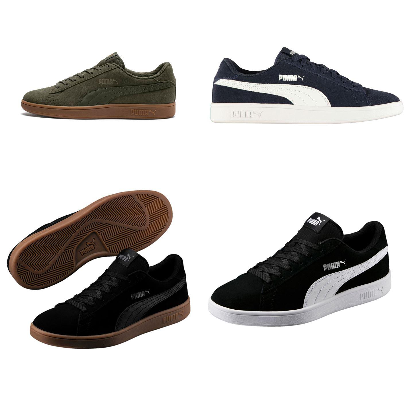 ... Puma Smash V2 Suede Trainers Mens Shoes Sneakers Athleisure Footwear ... 4c9e953e7