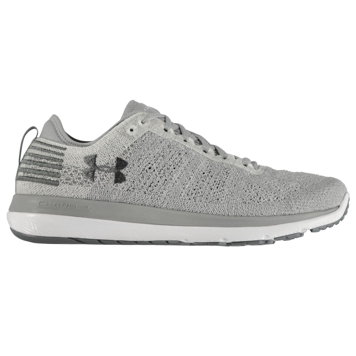 buy popular 18345 7cb92 Details about Under Armour Threadborne Fortis Running Shoes Mens Grey  Fitness Trainers Sneaker