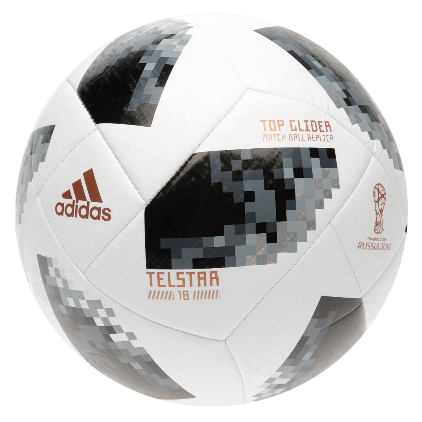 5d83242c3 adidas World Cup Russia 2018 Telstar Top Glider Football White/Black Soccer  Ball