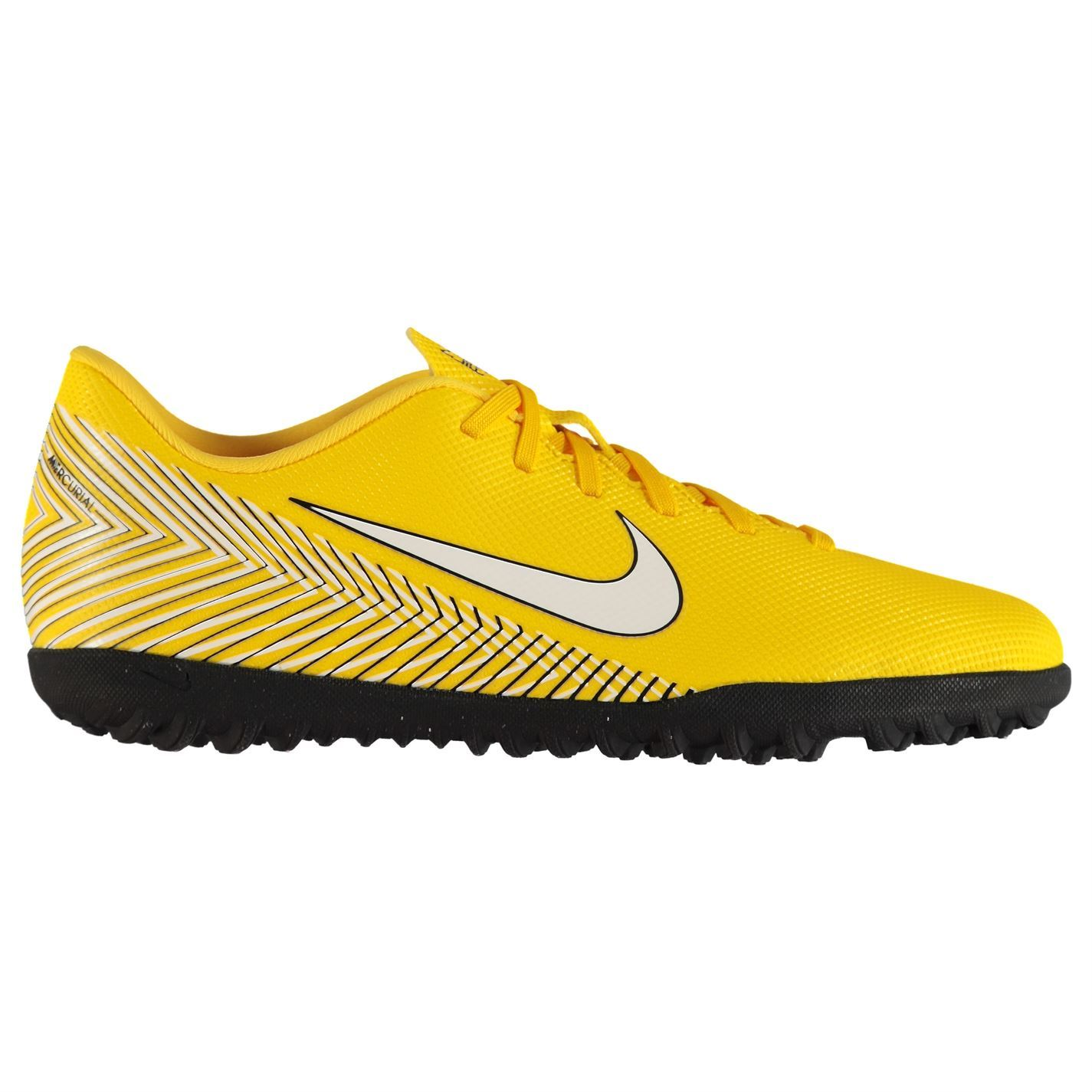 0045720e4f4a ... Nike Mercurial Club Neymar Astro Turf Football Trainers Mens Yellow Soccer  Shoes ...
